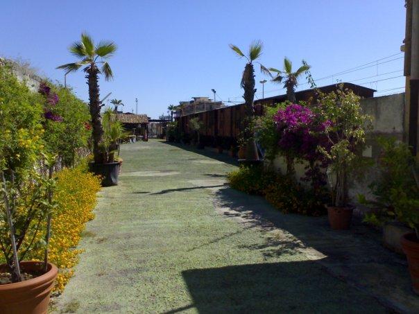 Il giardino e il treno-museo