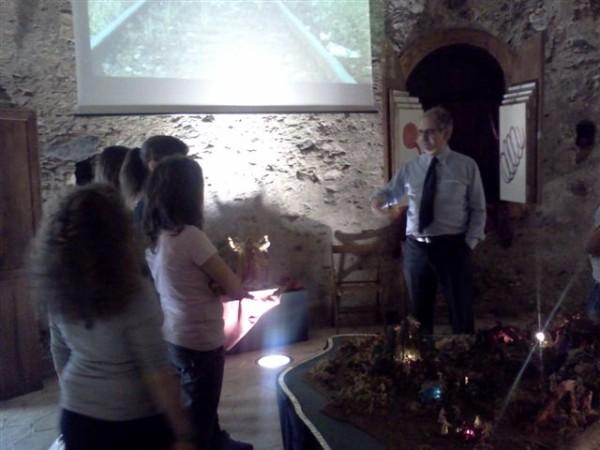 Visita dell'I.C. di Roccalumera al Parco Quasimodo