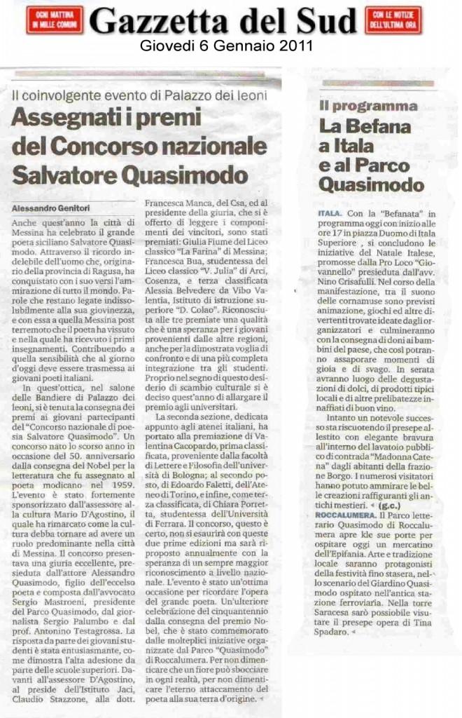 """I coinvolgenti Eventi di """"Palazzo dei Leoni"""" e del """"Parco Quasimodo"""""""