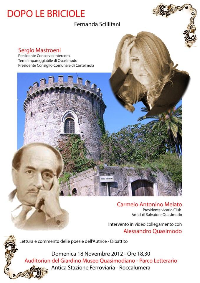 """Presentazione del libro """"DOPO LE BRICIOLE"""" di Fernanda Scillitani"""