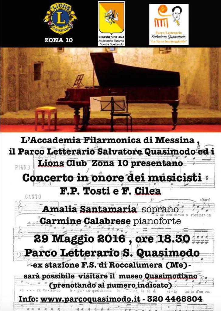 Concerto in memoria di F.P. Tosti e F. Cilea