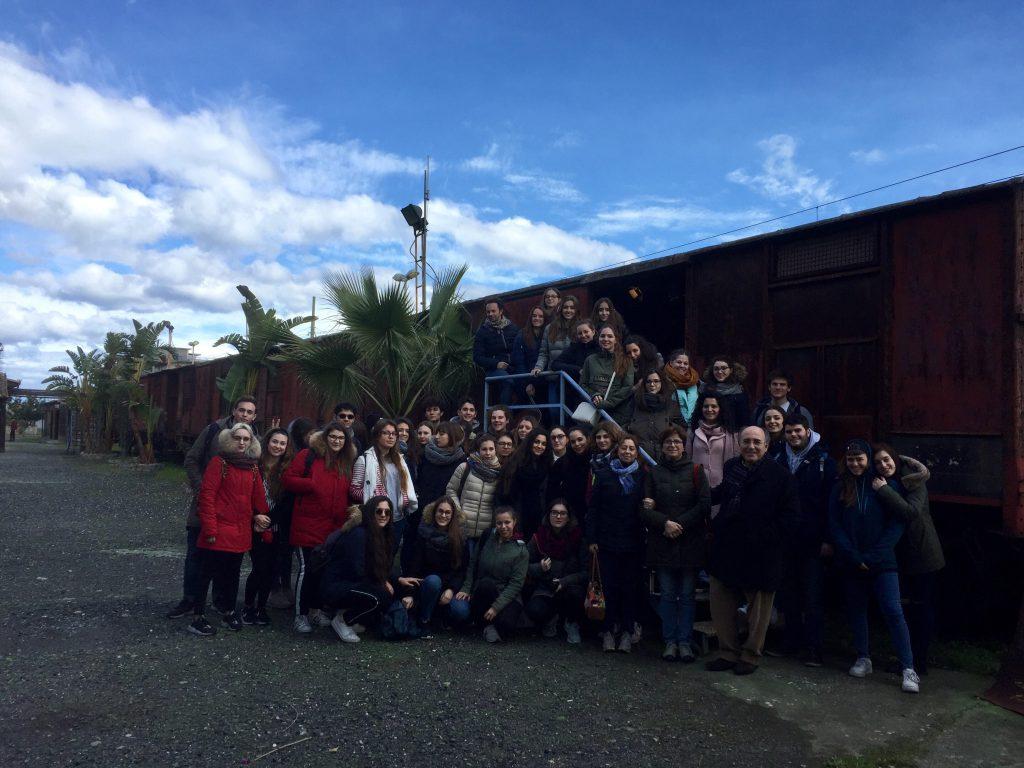 """Visita del Liceo Statale """"G. Fogazzaro"""" di Vicenza"""