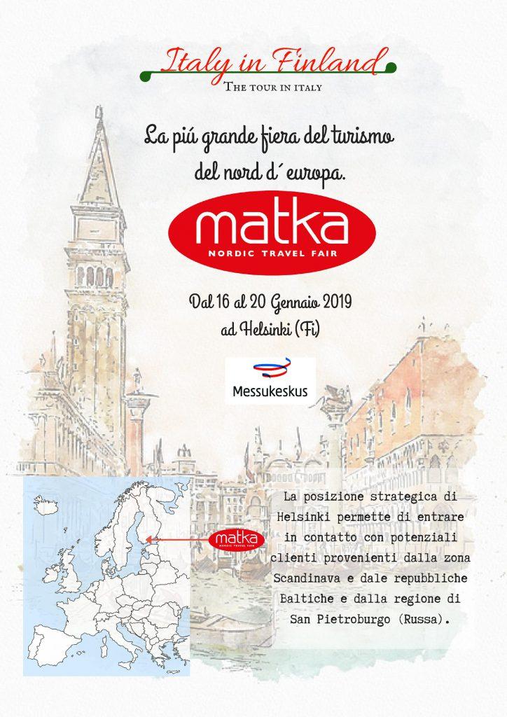 Parco Quasimodo & Anolf saranno presenti a MATKA – La Fiera del turismo di Helsinki e del Nord Europa