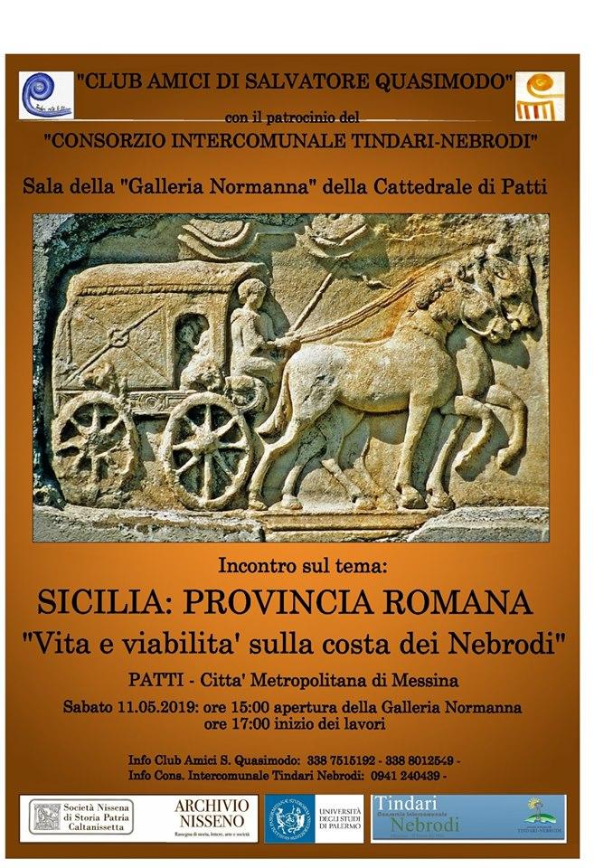 L'attività dei Club Amici di Quasimodo –  Sez. di Patti : La Sicilia , Provincia Romana