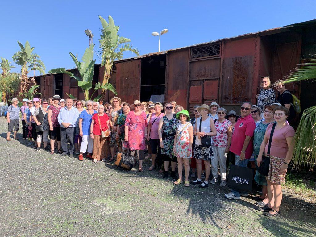 50 professori finlandesi in visita al Parco Letterario Quasimodo